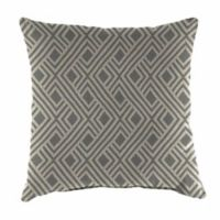 Print 20-Inch Square Outdoor Throw Pillow in Sunbrella® Integrated Steel