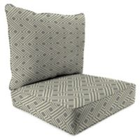 Print 2-Piece Deep Seat Chair Cushion in Sunbrella® Integrated Steel