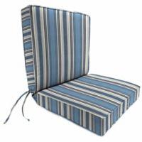 Stripe 44-Inch x 22-Inch Dining Chair Cushion in Sunbrella® Aynovack Nautical