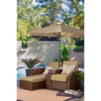 Relax-A-Lounger™ Santa Cruz Dual Chair in Sand