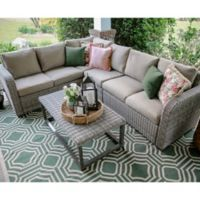 Forsyth 5-Piece Sectional in Tan