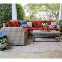 Forsyth 5-Piece Sectional in Red