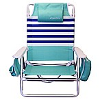 Nautica® 5-Position Beach Chair in Coastal Stripe