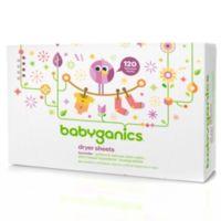 Babyganics 120-Count Dryer Sheets in Lavender Scent