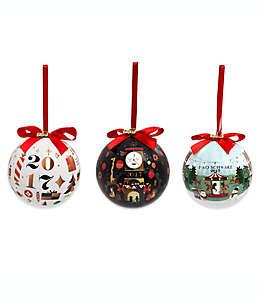 Esferas navideñas FAO Schwarz