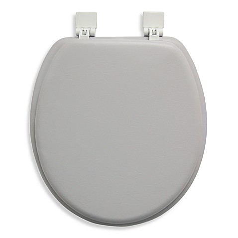 ginsey cushioned standard toilet seat bed bath beyond
