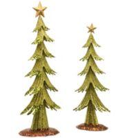 National Tree Company 2-Piece Metal Christmas Tree Set