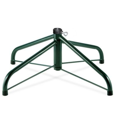national tree company folding christmas 24 inch tree stand in green - Christmas Tree Stands