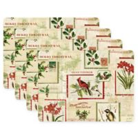 Pimpernel Holiday Nostalgia Placemats (Set of 4)