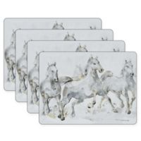 Pimpernel Spirited Horses Placemats (Set of 4)