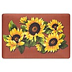 Black Eyed Susan 30-Inch x 18-Inch Anti-Fatigue Kitchen Floor Mat
