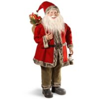 National Tree Company 36-Inch Santa in Red/Green