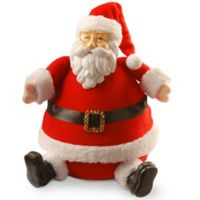National Tree Company 13-Inch Sitting Santa Christmas Figurine