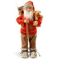 National Tree Company 24-Inch Standing Santa Christmas Figurine