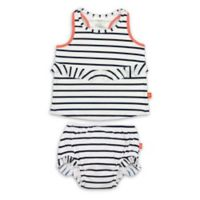 Lassig™ Size 3T 2-Piece Sailor Tankini Set in Navy