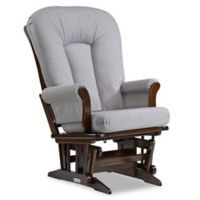 Dutailier® Sleigh Glider in Brown/Pebble Grey
