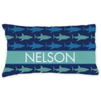 Sharks Pillowcase in Blue