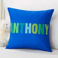 All Mine! Personalized 14-Inch Square Throw Pillow