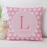 Her Name 14-Inch Square Throw Pillow