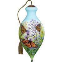 Ne'Qwa Monarch Butterflies Christmas Ornament