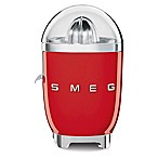 SMEG 50's Retro Style Citrus Juicer in Red
