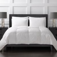 Sharper Image® 370-Thread-Count Extra-Warmth Down Alternative King Comforter in White