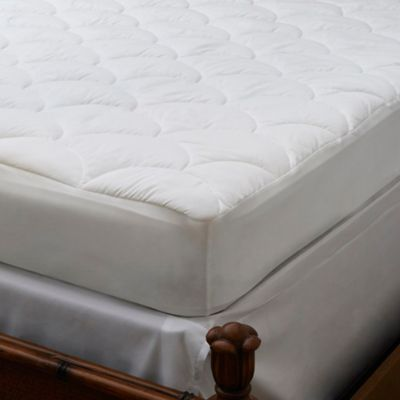 panama jack stay cool performance king mattress pad in white