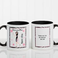 Birthday Girl 11 oz. Coffee Mug in Black