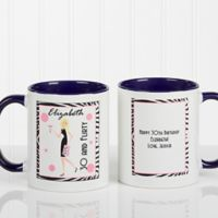 Birthday Girl 11 oz. Coffee Mug in Blue