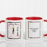 Birthday Girl 11 oz. Coffee Mug in Red