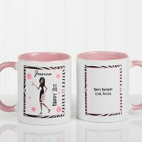 Birthday Girl 11 oz. Coffee Mug in Pink