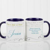 Cup of Inspiration 11 oz. Coffee Mug in Blue