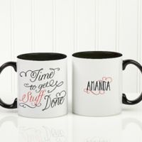 Daily Cup of Inspiration 11 oz. Coffee Mug in Black