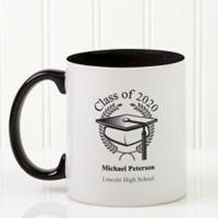Graduation Cap 11 oz. Coffee Mug in Black