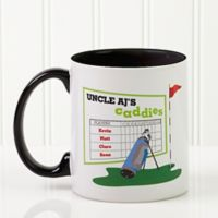 His Favorite Caddies 11 oz. Coffee Mug in Black