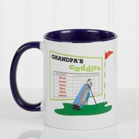 His Favorite Caddies 11 oz. Coffee Mug in Blue