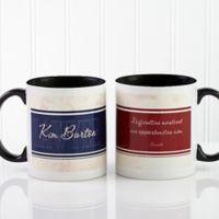 Inspiring Lawyer 11 oz. Coffee Mug in White/Black