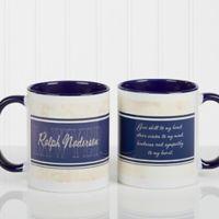 Inspiring Lawyer 11 oz. Coffee Mug in White/Blue