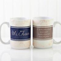 Inspiring Teacher 15 oz. Coffee Mug in White