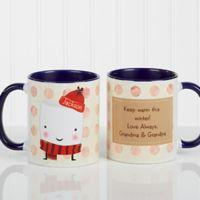 Marshmallow 11 oz. Coffee Mug in Blue