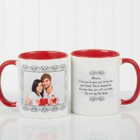 My Words To You 11 oz. Coffee Mug in Red