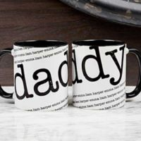 Our Special Guy 11 oz. Coffee Mug in Black/White
