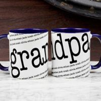 Our Special Guy 11 oz. Coffee Mug in Blue/White