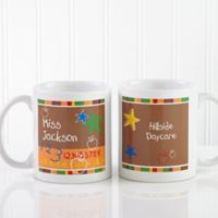 Preschool/Daycare Teacher 11 oz. Coffee Mug in White