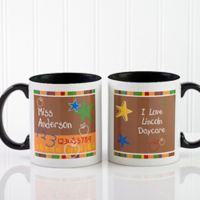 Preschool/Daycare Teacher 11 oz. Coffee Mug in Black