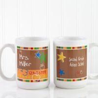Preschool/Daycare Teacher 15 oz. Coffee Mug in White