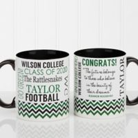 School Memories Graduation 11 oz. Coffee Mug in Black/White