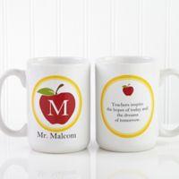 Teacher's Inspire 15 oz. Coffee Mug in White