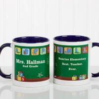 Teacher's Little Learners 11 oz. Coffee Mug in Blue