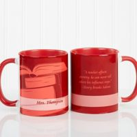 Teaching Professions 11 oz. Coffee Mug in Red